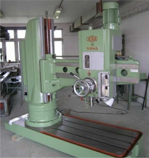Stand radial drilling machine VR4 A