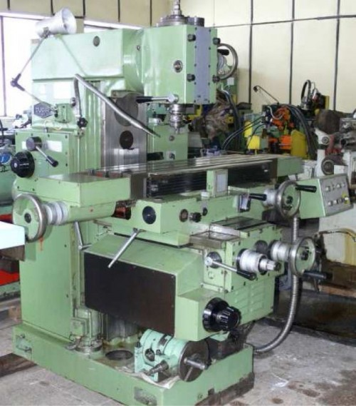 Vertical Milling Machines FV 25