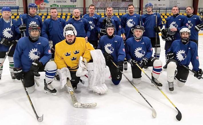 Hokejový tím HC LEV UNIMONT