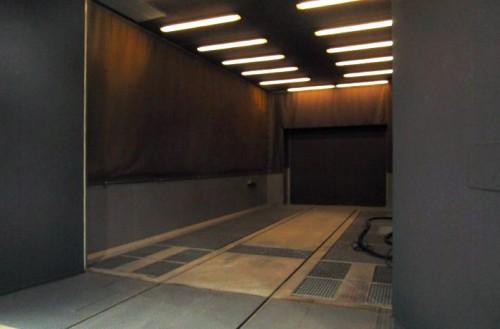 Tlakovovzdušná otryskávacia komora